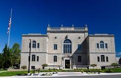 劳伦斯县法院大楼 免版税库存照片