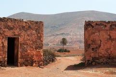 劳利瓦,费埃特文图拉岛,加那利群岛,西班牙 免版税库存图片