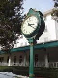 劳力士时钟在卡罗来纳州旅馆在派恩赫斯特,北卡罗来纳 图库摄影