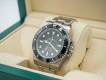 劳力士潜水艇人员,没有日期,手表 图库摄影