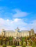 劳动人民文化宫在Iasi 免版税库存照片