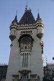 劳动人民文化宫的塔从Iasi的 库存照片