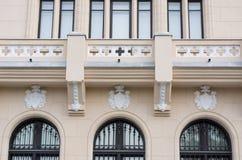 劳动人民文化宫, Iasi,罗马尼亚 免版税库存照片