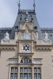 劳动人民文化宫, Iasi,罗马尼亚 免版税图库摄影