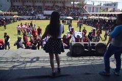 劳动节在三宝垄市 免版税库存图片