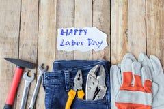 劳动节是一个联邦假日美国美国 库存照片