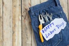 劳动节是一个联邦假日美国美国 免版税图库摄影