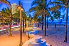 劳德代尔堡海滩佛罗里达 免版税库存图片