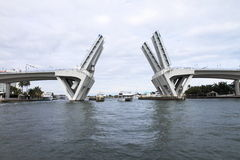 劳德代尔堡吊桥-佛罗里达-美国 免版税库存图片