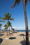 劳德代尔堡海滩 免版税图库摄影