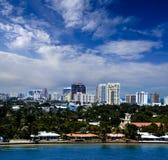 劳德代尔堡,佛罗里达 免版税图库摄影