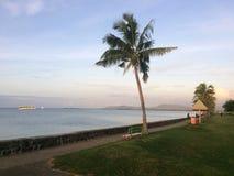 劳托卡江边斐济 免版税图库摄影