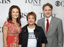 劳拉Benanti, Patti LuPone和博伊德盖恩斯 库存图片