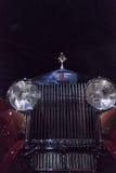 1930年劳斯莱斯幽灵1被风吹小轿车 库存图片