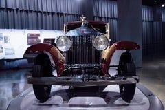 1930年劳斯莱斯幽灵1被风吹小轿车 图库摄影