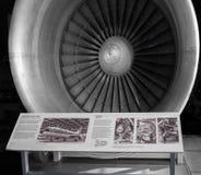 劳斯莱斯引擎1970年 图库摄影