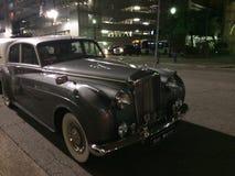 劳斯莱斯,文物的汽车 免版税库存照片