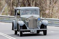 1932年劳斯莱斯20/25轿车 免版税库存图片