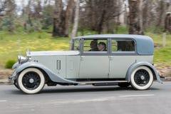 1932年劳斯莱斯20/25轿车 免版税库存照片