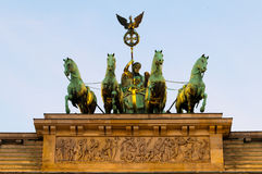 勃兰登堡门 免版税库存照片