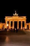 勃兰登堡门在柏林 库存照片