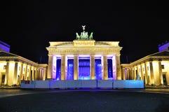勃兰登堡门,柏林德国 免版税库存照片
