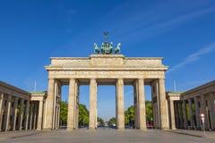 勃兰登堡门,柏林 免版税库存图片