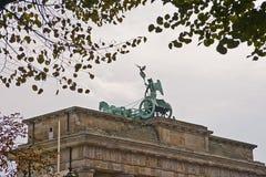 勃兰登堡门,波茨坦,柏林,德国 免版税图库摄影
