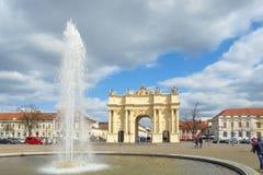 勃兰登堡门,波茨坦 免版税库存照片