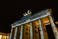 勃兰登堡门 免版税图库摄影