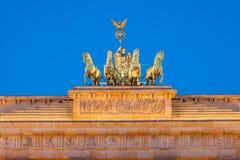 勃兰登堡门(Brandenburger突岩) 免版税库存图片
