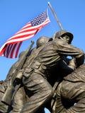 勇敢的海军陆战队员 库存照片