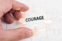 勇气概念 库存照片