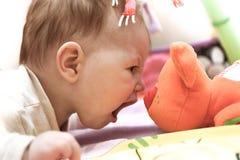 勇气婴孩 免版税库存图片