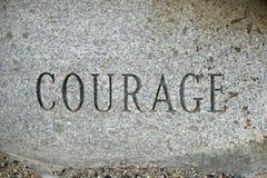 勇气 库存照片