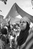 巴勒斯坦妇女 库存照片