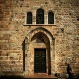 巴勒斯坦教会 库存图片