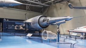 勒杜克022 -唯一截击机1956年在博物馆  库存图片