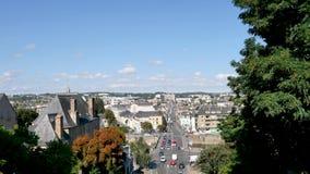 勒芒,法国都市风景  影视素材