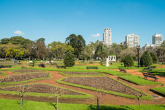 巴勒莫公园,布宜诺斯艾利斯 图库摄影