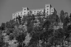巴勒莫大学,意大利鸟瞰图  库存图片