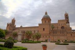 巴勒莫大教堂。西西里,意大利 免版税库存照片