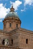巴勒莫大教堂 免版税库存图片