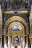 基督Pantocrator Palatine教堂 免版税图库摄影