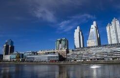 巴勒莫船坞布宜诺斯艾利斯阿根廷 免版税库存照片
