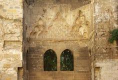 巴勒莫,内部古巴宫殿  库存图片