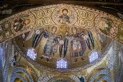 巴勒莫,意大利- 2009年10月13日:圣玛丽亚小山谷`上午教会  免版税库存图片