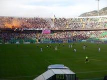 巴勒莫,意大利- 2013年11月9日-美国Citta二巴勒莫对特拉帕尼Calcio -意乙 免版税库存照片