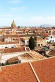 巴勒莫,老镇都市风景  免版税库存照片