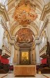 巴勒莫-大教堂或中央寺院长老会的管辖区  免版税库存图片